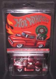 Hot Wheels Custom 56 Ford F 100 2011 Holiday Car HWC Exclusive 1 64