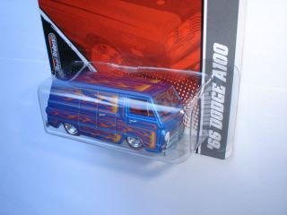 2011 Hot Wheels Garage MOPAR 66 DODGE A100 Real Riders LIMITED EDITION