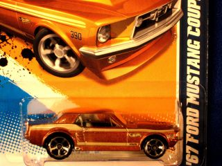 Hot Wheels 2012 67 Ford Mustang Coupe Met Bronze Fast