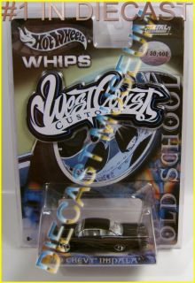 59 Chevy Impala Old School Whips West Coast Customs Hot Wheels