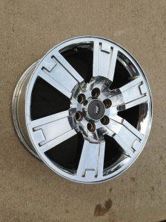 F150 Chrome Platinum Harley Factory Stock 20 Wheels Rims