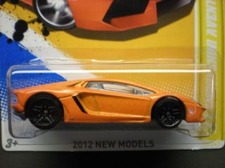 HOT WHEELS 12 LAMBORGHINI AVENTADOR, FIRST EDITION #12 OF 50 2012 NEW