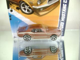 Hot Wheels 2012 67 Ford Mustang Coupe Muscle Mania Ford12 6 10