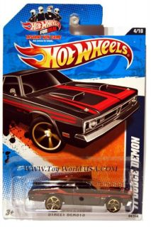 2011 Hot Wheels Street Beasts 84 71 Dodge Demon Gamec