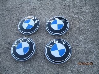 New BMW Set of 4 Peaces Center Wheel Rim Hub Cap 68mm 36136768640 Hubs