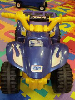 Fisher Price Power Wheels Lil Quad Battery Charger 4x4