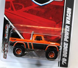 HOT WHEELS GARAGE  EXCLUSIVE 1970 70 DODGE HEMI POWER WAGON