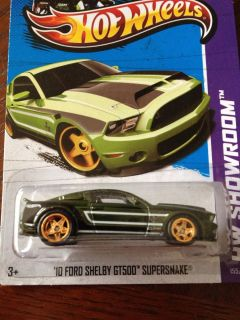 2013 Hot Wheels 10 Ford Shelby GT500 Supersnake Secret Super Treasure