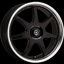 16 inch VW Beetle Gloss Black Motegi Racing Wheels Rims