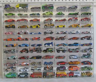 84 Hot Wheels 1 64 Scale Diecast Display Case Acrylic