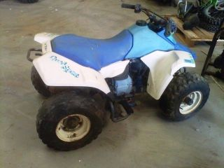 Rear Rims & Tires 1990 Suzuki Quad Sport LT80 90 4 Wheeler Used ATV