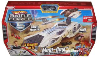 Hot Wheels Battle Force 5 Mobile Command Mobi com New