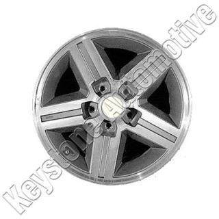 85 86 87 Chevy Camaro Mach Charcoal 16 x 8 Factory Rear Wheel Rim 1455