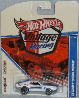 Hot Wheels 70 Mustang Vintage Racing  Ford Ed TerryS