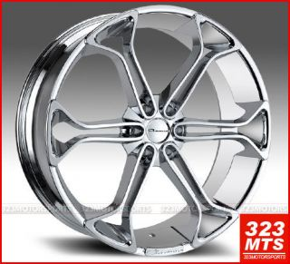 Giovanna Wheel KING6 GMC Sierra Yukon Cadillac Escalade Rims