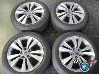 12 Honda Accord Factory 17 Wheels Tires Rims 63938 42700TEOA91