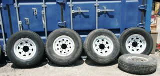 Trailer Wheels Tires 235 75R16