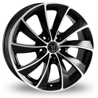 18 Lugano Alloy Wheels Continental Tyres VW Passat 5 Stud 10 On