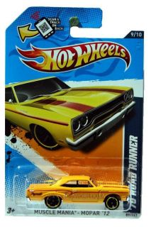2012 Hot Wheels Muscle Mania Mopar 89 1970 Plymouth Roadrunner
