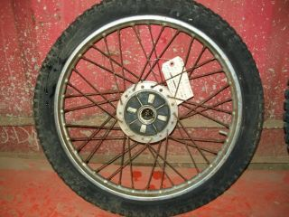 1966 1969 Honda S90 s 90 Rear Wheel SL