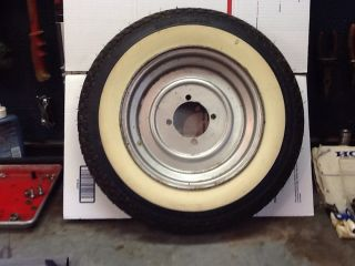 Mustang Cushman Scooter Wheel Rim Tire