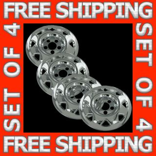 97 01 Honda CRV 15 Chrome Wheel Skin Hubcaps Covers Hub Caps Set of 4