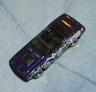 315 ~ 1/64 96 Purple Octopus King Kuda Hot Wheels Mattel Convertible