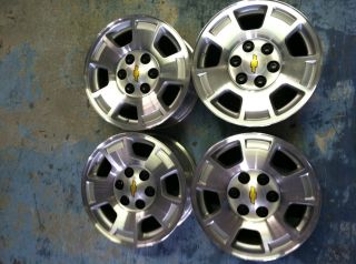17 Chevrolet Tahoe Suburban Silverado Wheels Hollander 5299