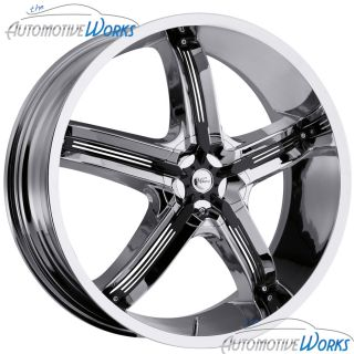 Air 5 5x108 5x4 25 5x114 3 5x4 5 38mm Chrome Wheels Rims 18