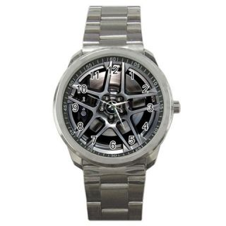 New Ford Mustang Shelby GT500 Rims Sport Metal Watch 319