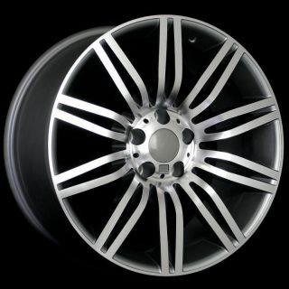 19 550I SPORT STYLE STAGGERED WHEELS 5X120 RIM FIT BMW M5 M6 2006 2010