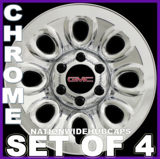 Lug Chrome Wheel Skins Simulators Rim Covers 8HOLE Steel Wheels
