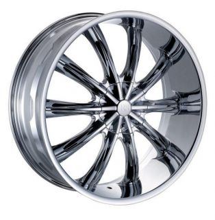 20 Wheels Rims Package Free Tires Red Sport Wheel RSW22 Chrome 5x108