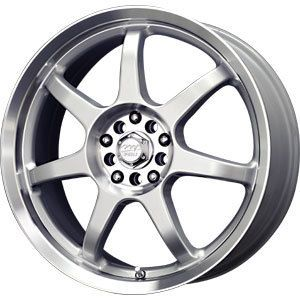 17 MB Motoring Wheels Rims 5x115 5x110 Pontiac G6 Chevy Cobalt