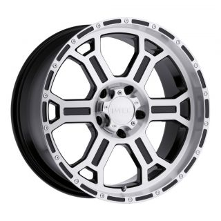 inch V Tec Raptor Gloss Black Machined Wheels Rims 5x5 5x127 00