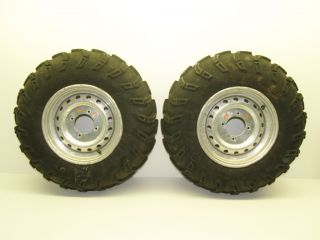 08 Kawasaki Brute Force 750 Front Wheels Rims Tires