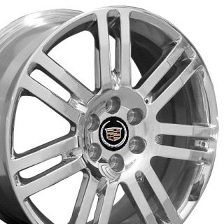 18 Rims Cadillac SRX Wheel 4637 Polished 18x8