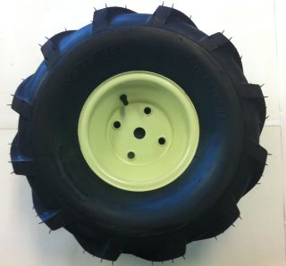 Brand New Set of Two Cub Cadet Lawnmower Wheels and AG Tires
