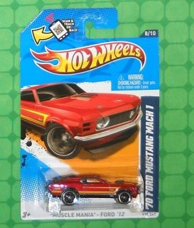 2012 Hot Wheels Muscle Mania Ford 118 70 Ford Mustang Mach I
