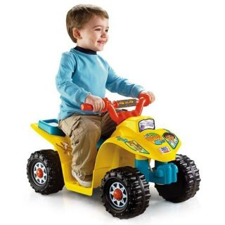 Fisher Price Power Wheels Go Diego Go Lil Quad Ride On