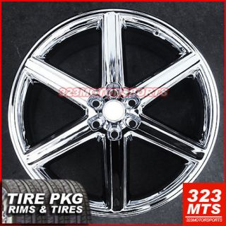 28 IROC Rims Titan Ford GMC Cadillac Escalade Wheels Tire Pkg