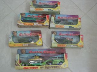 Matchbox Battle kings in the box,hotwheels , Tank transporter, k 109