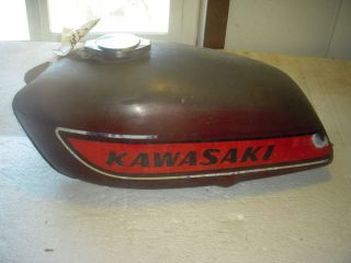 1975 Kawasaki KH400 Triple 400 Fuel Gas Tank