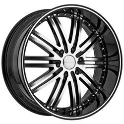 20 inch Menzari Z08 Black Wheels Rims 5x120 20 BMW 5 6 7 Series M3 M5