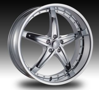 22 Chrome Wheels and Tires Charger Magnum Chrysler 300 rwd 5x115 265
