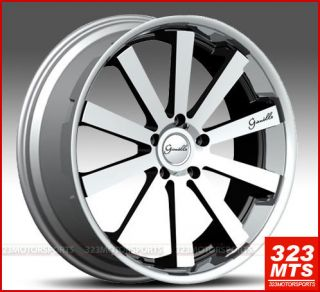 Santo 2SS Rims Wheels Cadillac GMC Chevy SUV Hummer Wheels Rims