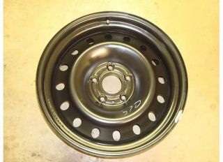 20 Dodge RAM 1500 Spare Steel Wheel Rim 02 08 Tire Black 2166 Hemi