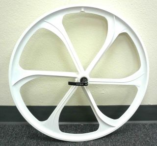 26 Bike Mountain Bike Front Wheels Disc Brake Only w Q R White