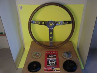 Grant Steering Wheels Classic Mustang Model 966 Wood Steering Wheel