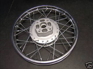 02 Up Yamaha TTR125L TTR125 TTR 125 New 16 Rear Wheel Rim Hub
